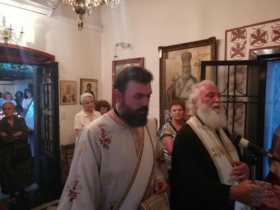 Άγιος Φανούριος: Πλήθος πιστών στον Εσπερινό στη Τρίπολη