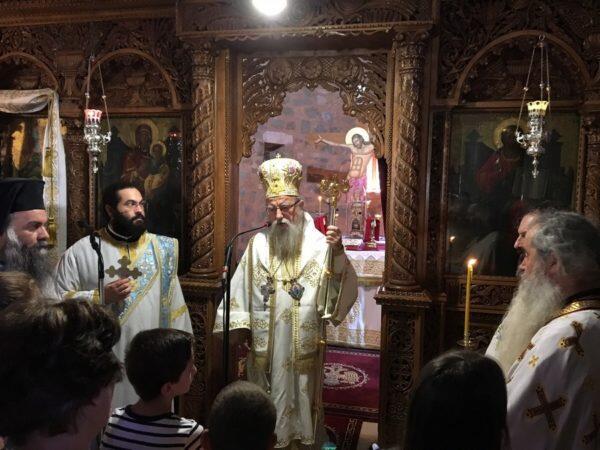 Η εορτή της Μεταμορφώσεως του Σωτήρος στην Μητρόπολη Αιτωλίας