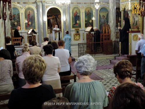 Άρτα: Ακολουθία Παρακλητικού Κανόνος στην Ενορία Αγίου Γεωργίου