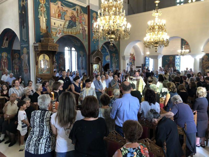 Κυριακή ΙΒ΄ Ματθαίου στη Μητρόπολη Θηβών