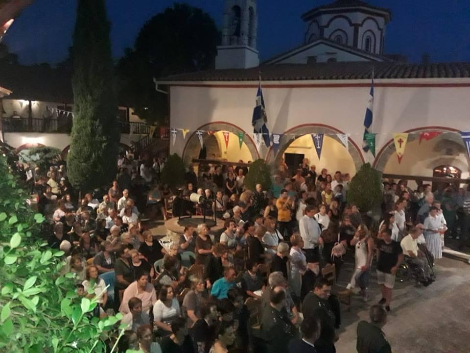 Σάμος: Λαμπρός Εορτασμός στην Ιερά Μονή Μεγάλης Παναγιάς