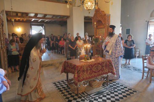 Με Ιεροπρέπεια και κατάνυξη εορτάσθηκε η Σύναξη των εν Υπάτη Διαλαμψάντων Αγίων