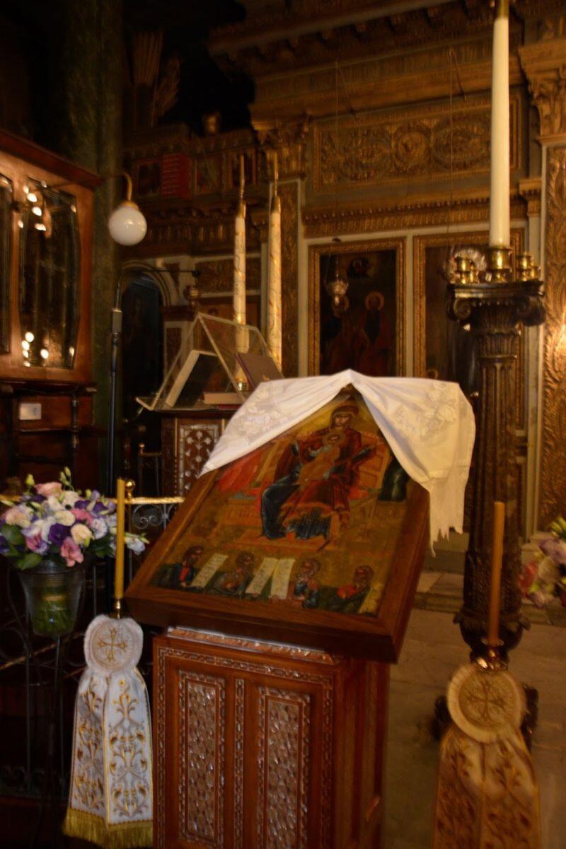 Στην Παναγία Κουμαριώτισσα απόψε ο Πατριάρχης για την τελευταία παράκληση