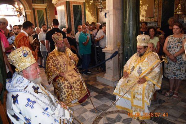 Λαμπρή εορτή Κοιμήσεως της Θεοτόκου στην Ι. Μονή Βουλκάνου