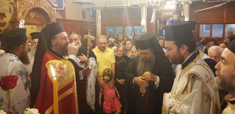 Η Λευκάδα υποδέχθηκε την Τιμία Κάρα του Αγίου Βησσαρίωνος