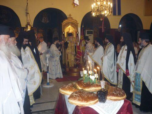 Άγιος Κοσμάς ο Αιτωλός: Πλήθος πιστών υποδέχθηκε την Παναγία Βηματάρισσα
