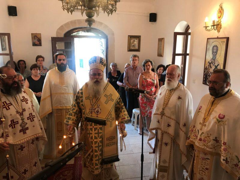 Με λαμπρότητα πανηγύρισε ο Ιερός Ναός Αποστόλου Τίτου στο Μόχλος Σητείας