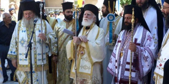Λαμπρός εορτασμός του Αγίου Τίτου στο Ηράκλειο Κρήτης