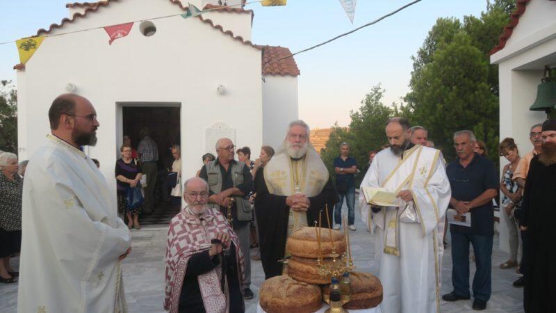 Άγιος Αλέξανδρος: Εόρτιος Εσπερινός στη Σύρο