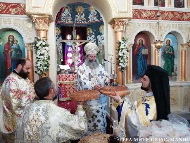 Η εορτή της Κοιμήσεως της Θεοτόκου στην Ιερά Μητρόπολη Μάνης