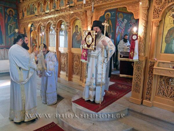 Μητρόπολη Ιωαννίνων: Εγκαίνια Ναού Κωνσταντίνου και Ελένης Κωστάνιανης