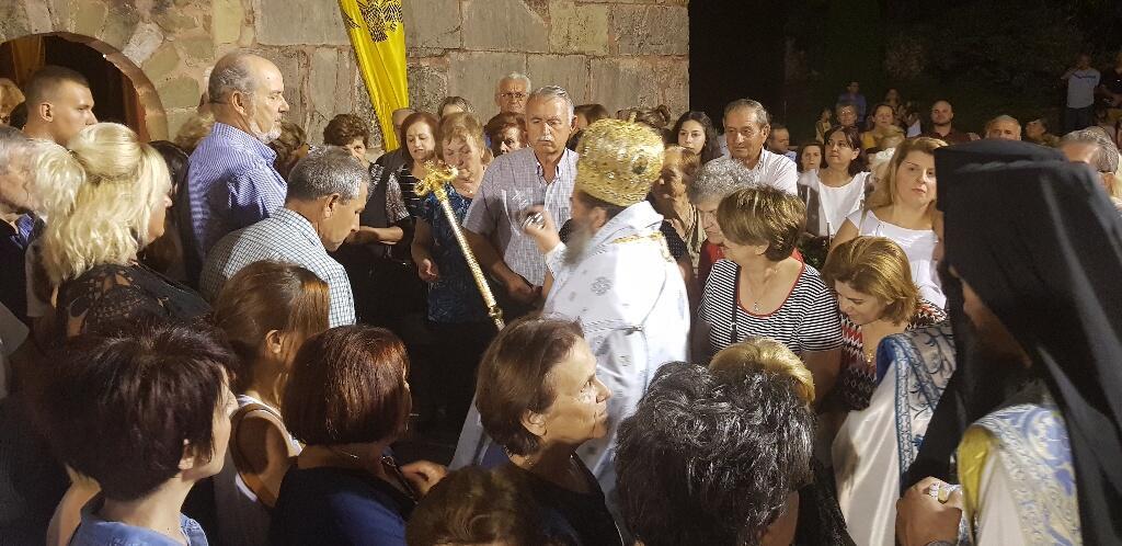 Λέσβος: Ο Μητροπολίτης Ελευθερουπόλεως Χρυσόστομος στη γενέτειρά του