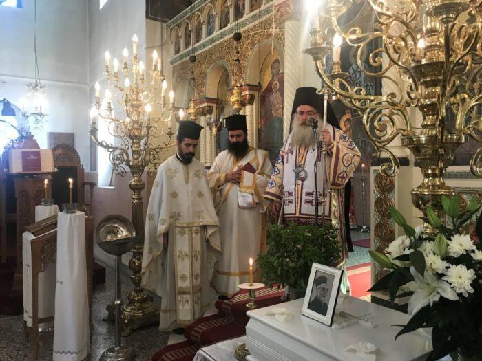 Θεία Λειτουργία και 40ήμερο Μνημόσυνο μακαριστού Ιερέως π. Στυλιανού Πατεράκη στην Ενορία Καβουσίου
