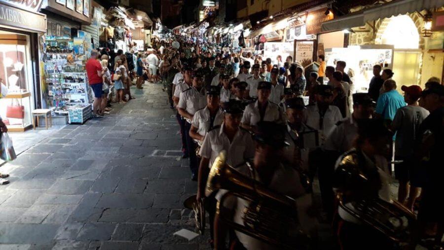 Λαμπρός Εορτασμός του Αγίου Φανουρίου στην παλαιά πόλη της Ρόδου
