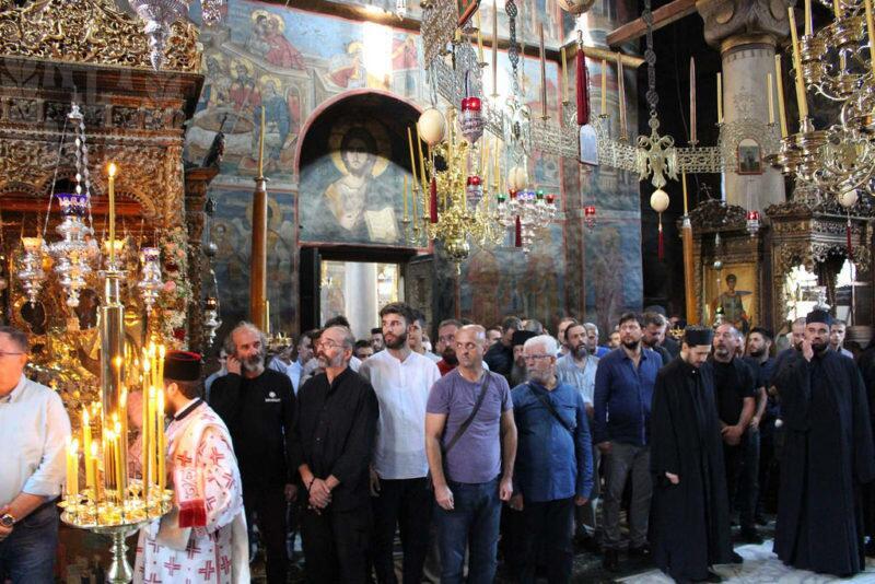 Αγιο Όρος: Λαμπρή εορτή της Υπεραγίας Θεοτόκου της «Τριχερούσης»