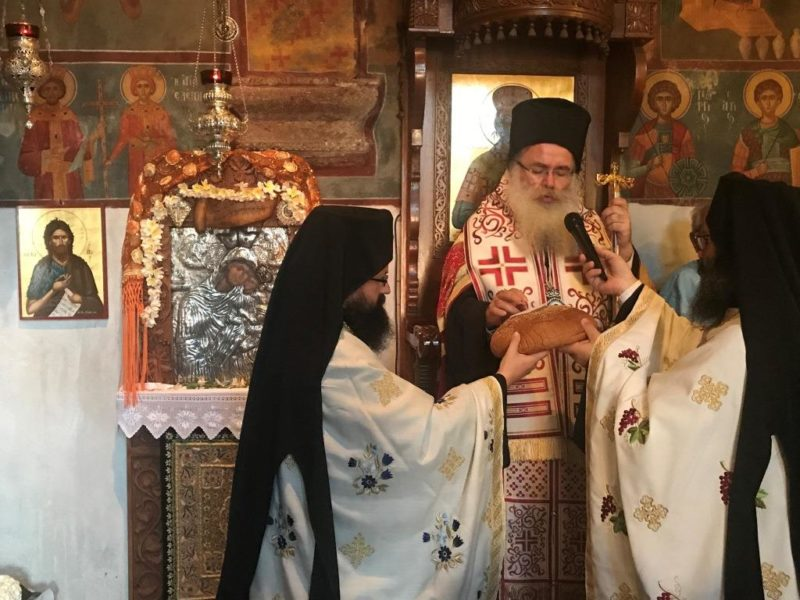 Η Ακολουθία του Α´ Παρακλητικού Κανόνα στην Μονή Παναγίας Φανερωμένης Ιεράπετρας