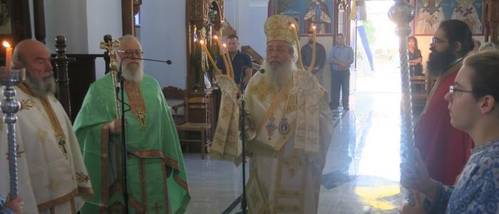 Αγίου Ιωάννου Προδρόμου: Πρώτη Πανηγύρις στον αποκατεστημένο Ιστορικό Ναό στη Σκάρφεια
