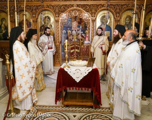Τεσσαρακονθήμερο μνημόσυνο της μεγάλης ευεργέτιδος της Ι. Μ. Παναγίας Δοβρά μακαριστής Αγγελικής Κορφιωτάκη