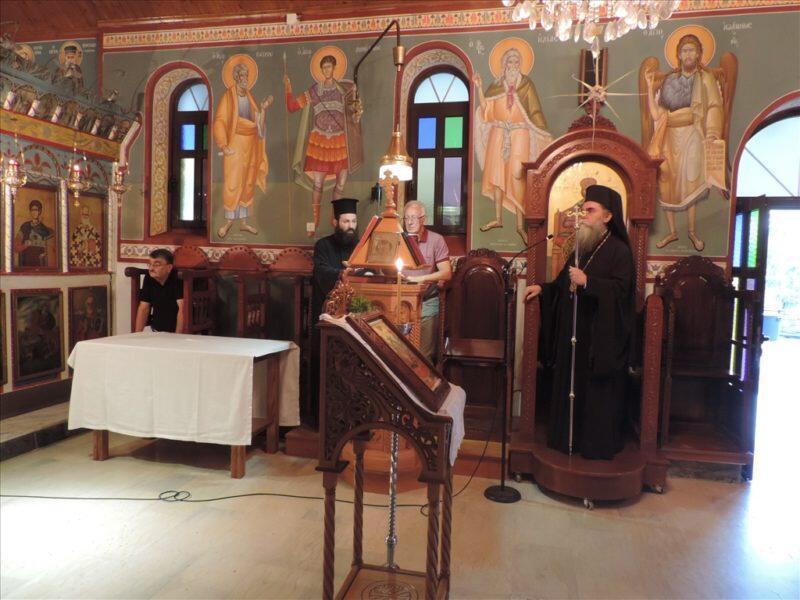 Ο Παρακλητικός Κανών στην Ενορία Πέρα Καλεντίνης