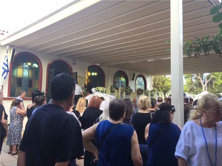 Ειδήσεις Φωτιά: Άφατη θλίψη στην κηδεία των διδύμων και της ακτινολόγου