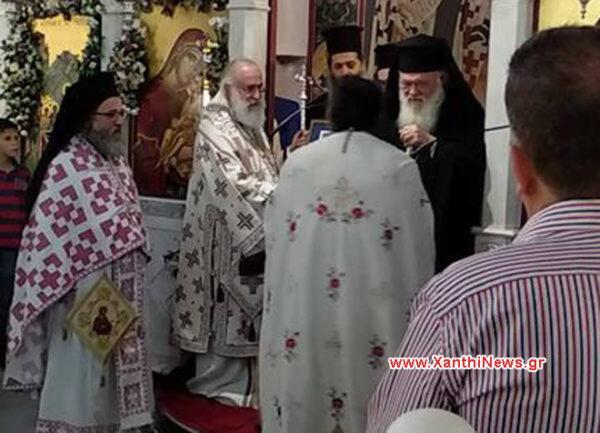 Ο Αρχιεπίσκοπος συναντήθηκε με την πολιτική ηγεσία της Ξάνθης