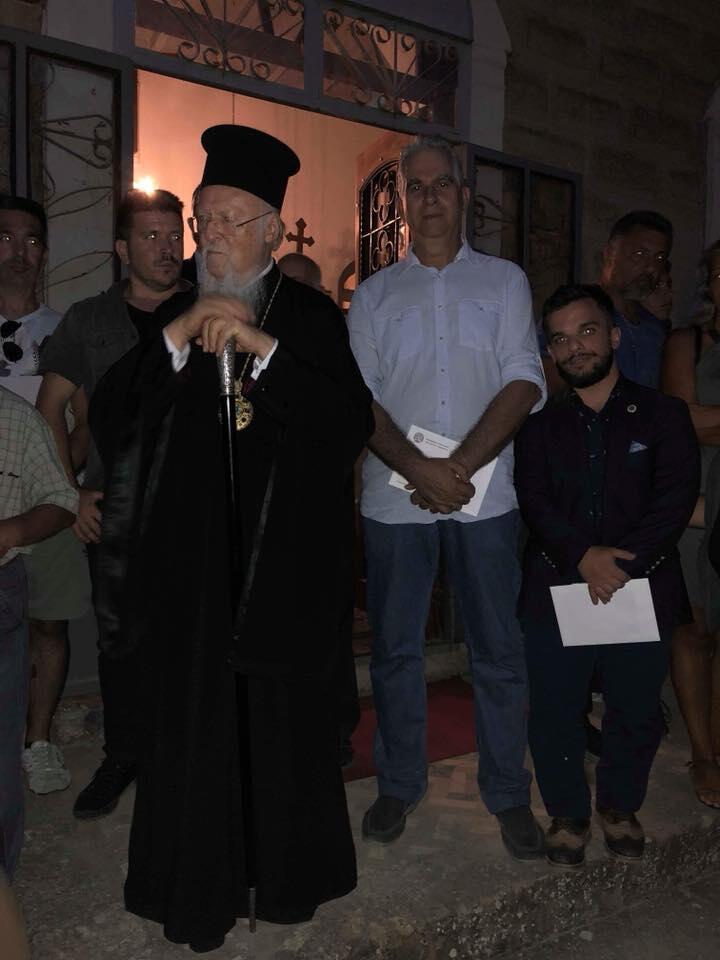 Οικουμενικός Πατριάρχης - Έλληνες Στρατιωτικοί: Μεγάλο δώρο της Παναγίας