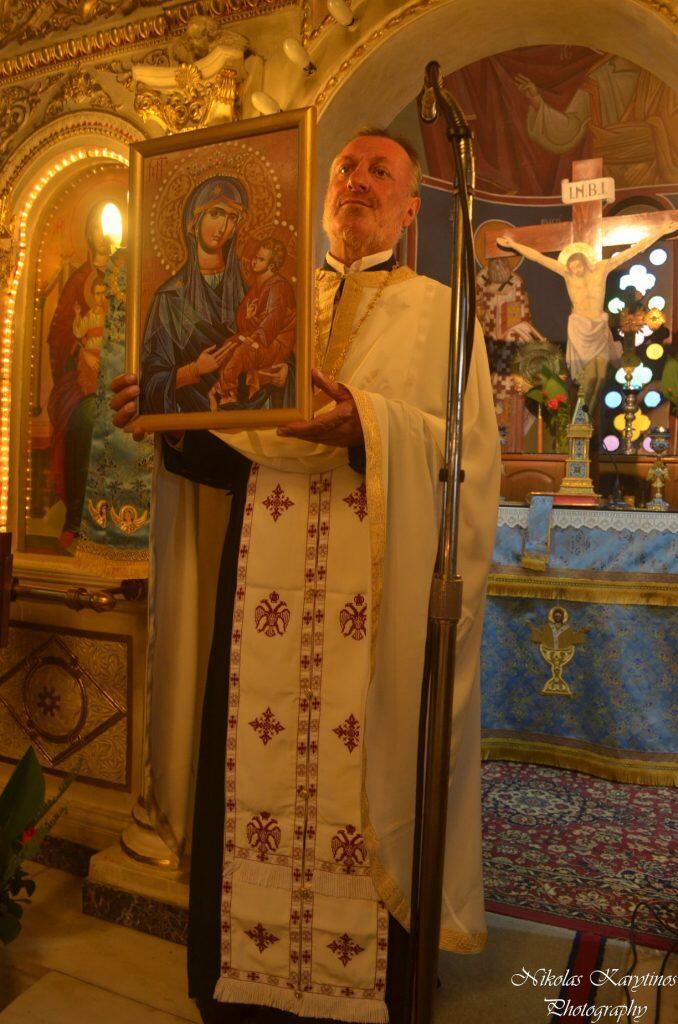 Τρίπολη: Εσπερινός της Παναγίας της Γερόντισσας