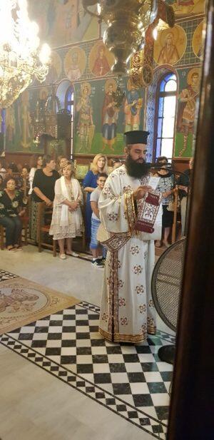 Εορτασμός Αγίου Μεγαλομάρτυρος Φανουρίου στο Βαλομάνδρι Τρικάλων
