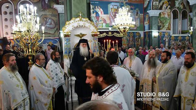 Αγία Ζώνη: Η Νέα Τίρυνθα γιορτάζει την Κατάθεση της Τιμίας Ζώνης της Υπεραγίας Θεοτόκου