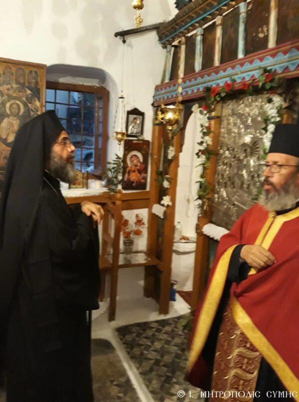 Η Θεμελίωση του Επισκοπείου Καστελλορίζου