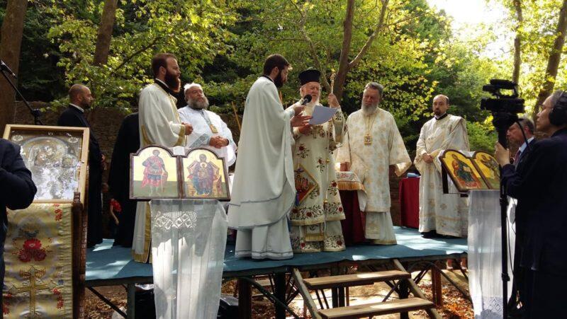 Φανερωμένη Κυζίκου: Πλήθος κόσμου στην Πατριαρχική Θεία Λειτουργία