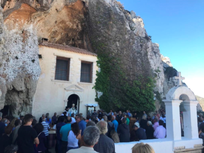 Με λαμπρότητα η πανήγυρη της Ιεράς Μονής Παναγίας Φανερωμένης Ιεράπετρας
