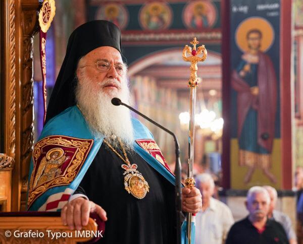 Tεμάχιο Ιερού Λειψάνου και τον Σταυρό του Αγίου Κοσμά του Αιτωλού υποδέχθηκε η Αλεξάνδρεια