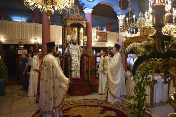 Κοίμηση της Θεοτόκου: Λαμπρός Εορτασμός στη Μητρόπολη Μαρωνείας