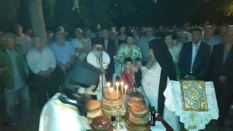 Μητρόπολη Γρεβενών: Λαμπρός εορτασμός της Κοιμήσεως της Θεοτόκου