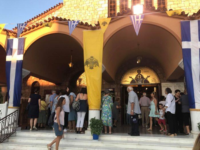 Παναγία Φανερωμένη - Χολαργός Τώρα: Λαοθάλασσα στον Πανηγυρικό Εσπερινό