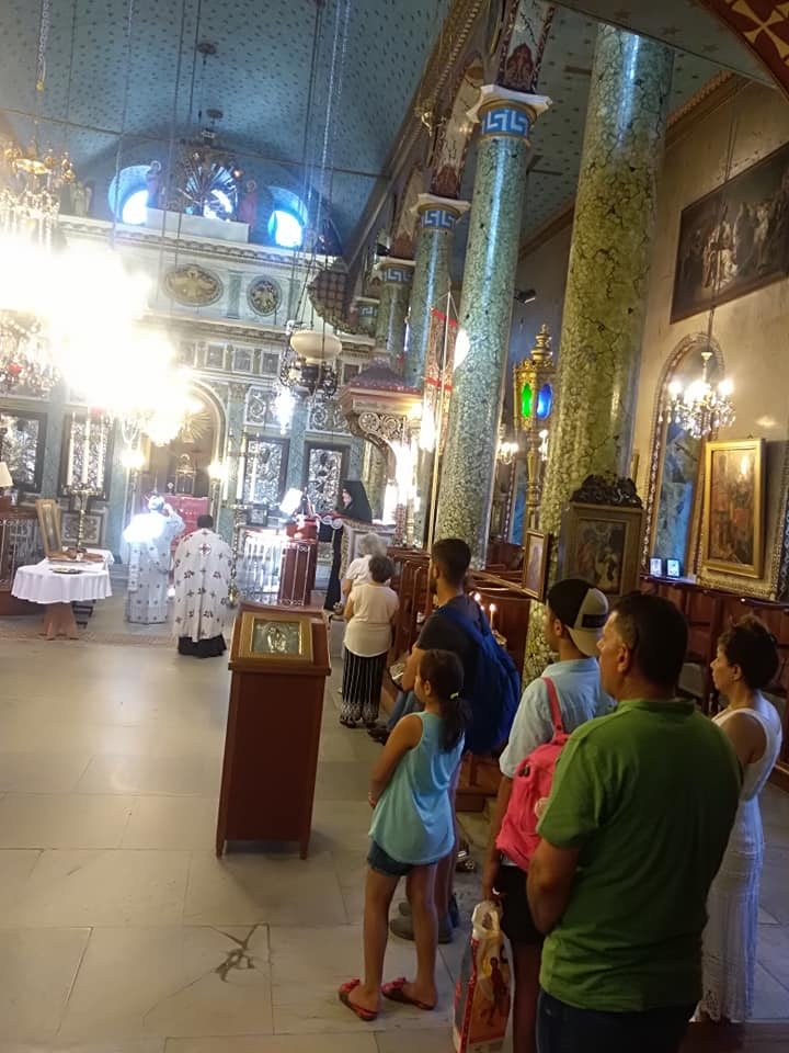Άγιος Φανούριος - Κωνσταντινούπολη: Πλήθος κόσμου στον Εσπερινό