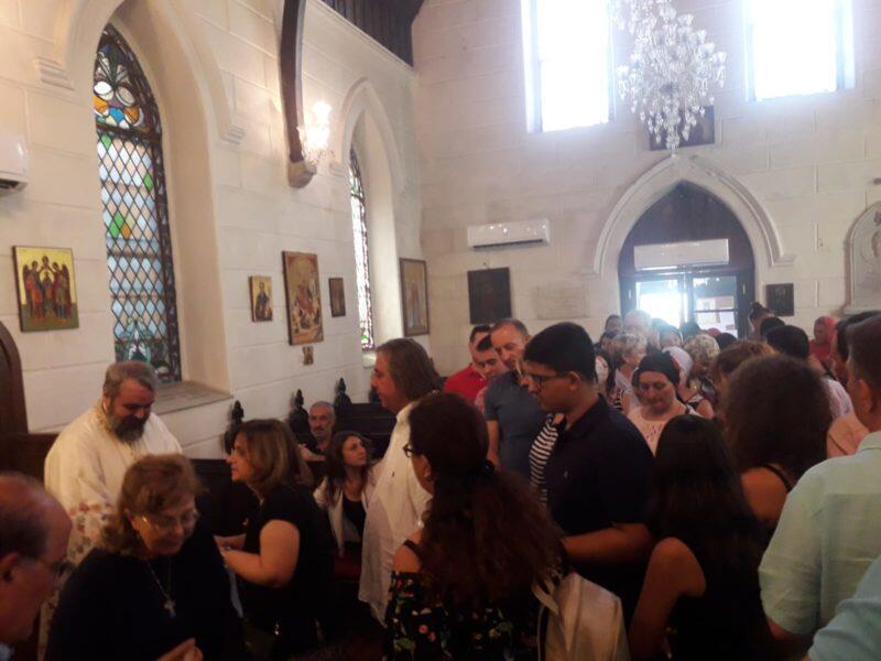 Μεταμόρφωση Σωτήρος - Σμύρνη: Εσπερινός και Τρισάγιο για τα θύματα στην Αττική