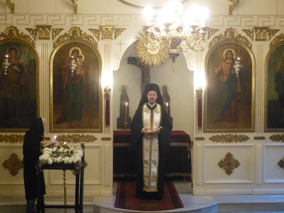 Ο Οικουμενικός Πατριάρχης στον Άγιο Γεώργιο Μεσαχώρου