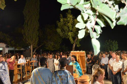 Κοίμηση της Θεοτόκου: Λαμπρή Εορτή στον Πρωταρά