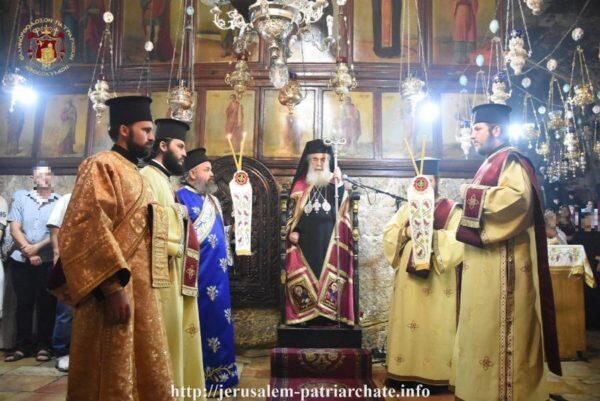 Λαμπρός εορτασμός της Κοιμήσεως της Θεοτόκου στο Θεομητορικό Μνήμα της Γεσθημανής
