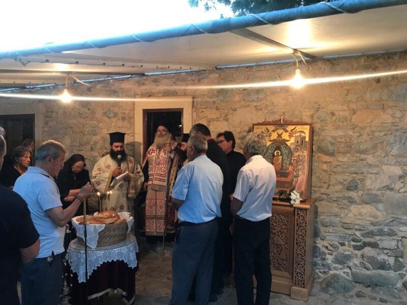 Παράκληση στην Υπεραγία Θεοτόκο στον Ναό Παναγίας Κοτσυφιανής Γρα Λυγιάς Ιεράπετρας