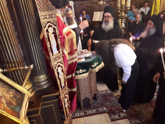 Λευκάδα: Κουρά μοναχού στην Ιερά Μονή Υπεραγίας Θεοτόκου Φανερωμένης