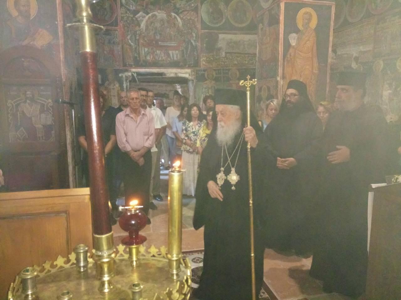 Λαμπρή Εορτή Κοιμήσεως της Θεοτόκου στην Ιερά Μονή Γηρομερίου