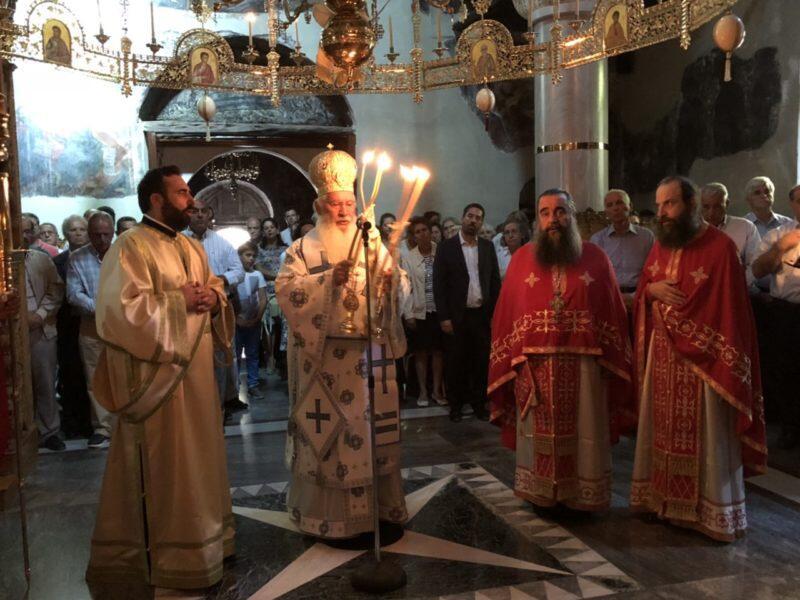 Πανήγυρη Μητροπολιτικού Ναού Θηβών και Ιεράς Μονής Μακαριωτίσσης
