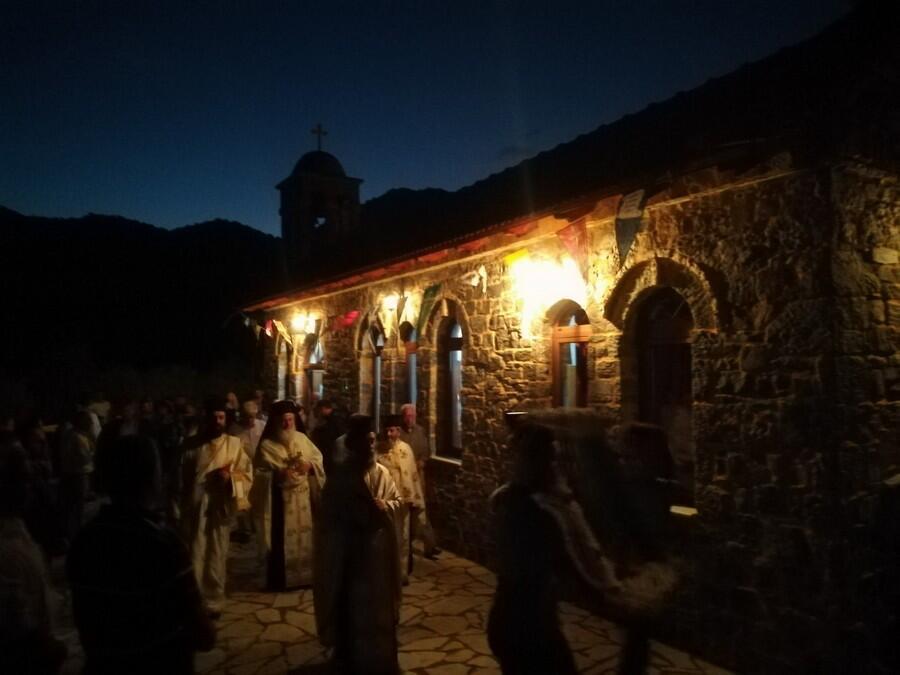 Πανήγυρις I.N. Αγίου Ιωάννου Προδρόμου στο Περθώρι Τριπόλεως