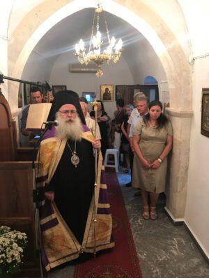 Μεγάλος Παρακλητικός Κανόνας στην Παναγία της Ρίζας Ενορίας Σκορδύλλου Σητείας
