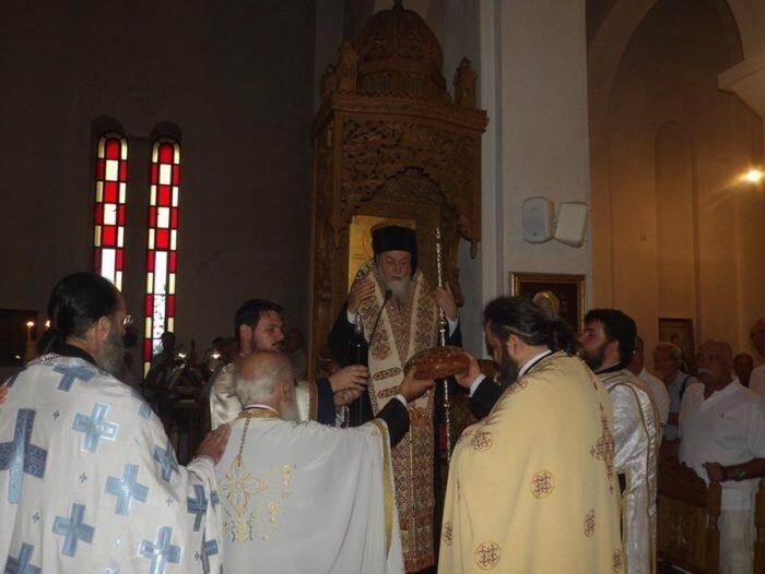 Λαμπρός εορτασμός του Αγίου Γερασίμου του Νοταρά στην Μητρόπολη Κορίνθου