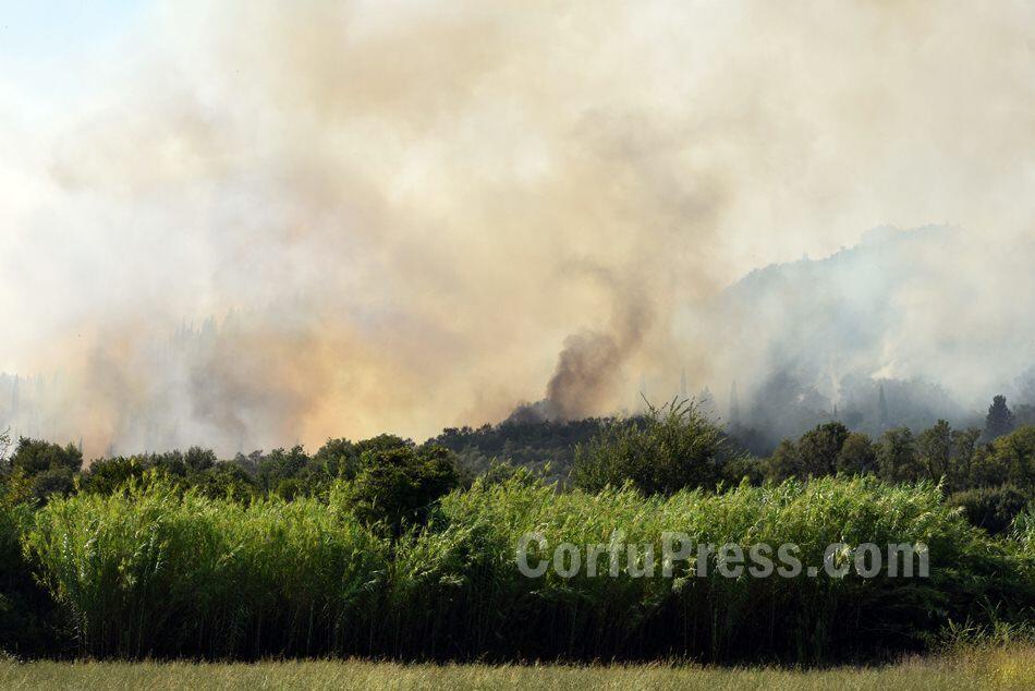 Κέρκυρα φωτιά: Τώρα - αναζοπύρωση - Συγκλονιστικές εικόνες