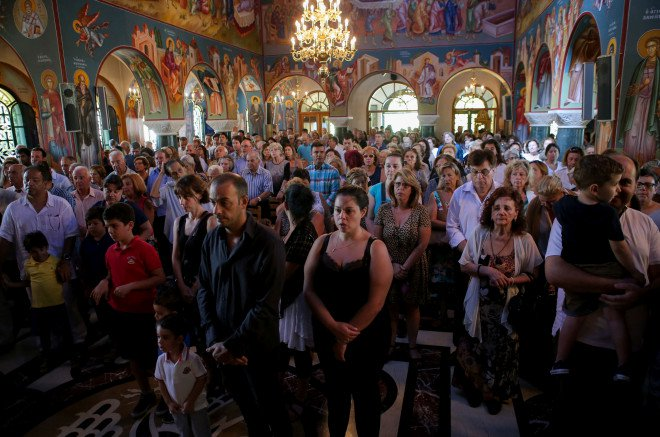 Δεκαπενταύγουστος: Συγκίνηση και προσευχή στο πολύπαθο Μάτι